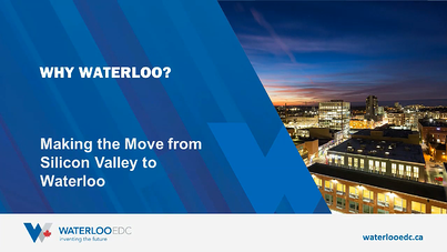 Making the Move from Silicon Valley to Waterloo Title Screen